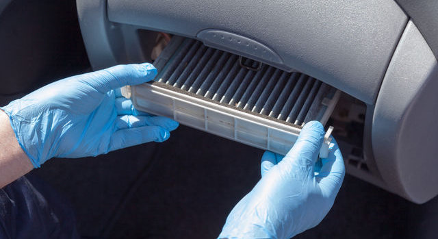 changing cabin air filter