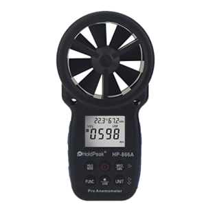 anemometer for cabin air filter replacement